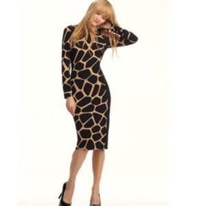 Maggy London Giraffe Print Dress